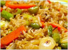 Chinese Fried Rice | Holy Cow! Vegan Recipes|Eggless Recipes|Dairy-free Recipes|Indian Recipes