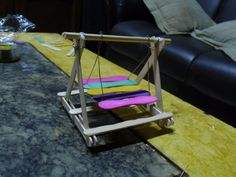 My popsicle stick creations - Hamster Central