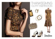"""Thanksgiving Outfit Inspiration"" by neimanmarcus ❤ liked on Polyvore featuring moda, Michael Kors, Giorgio Armani, Auden, Ashley Pittman, Christian Louboutin e Roger Vivier"