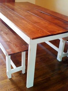The experts at HGTV.com share easy-to-build instructions on how to make a farmhouse bench with rustic bracing and notched corners.