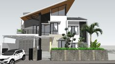 please leave a comment. Up House, House Front, Education Architecture, Architecture Design, Minimalist Layout, Architecture Concept Drawings, 3d Warehouse, House Elevation, 3d Max