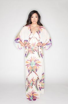 Monte Carlo Kaftan Maxi Dress