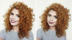 Petites Vaidades: Como dar MUITO volume em cabelos cacheados finos