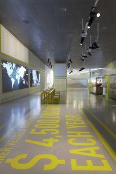 Helsignør / Elsinore: M/S Maritime Museum of Denmark, the Danish national maritime museum. Bjarke Ingels Group (2013)