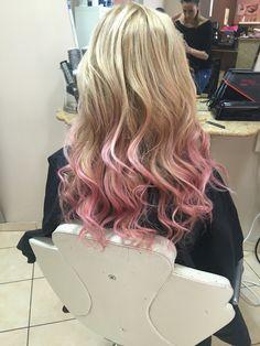 #blonde #pink #hair 🙋🏼
