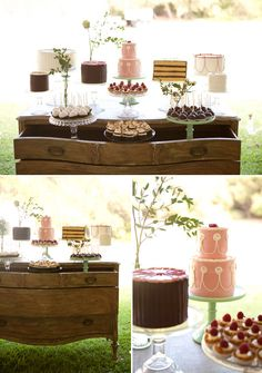 Gorgeous Styling for Dessert Table