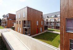 Social Housing complex - Montlouis-sur-Loire, France - BROISSAND arch