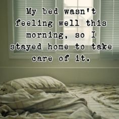 Good idea, especially when it's cold and the bed has an electric blanket!