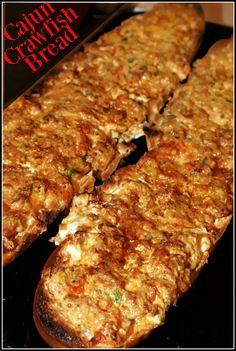 Best Seafood Recipes, Brunch Recipes, Easy Dinner Recipes, Breakfast Recipes, Dessert Recipes, Drink Recipes, Breakfast Ideas, Crawfish Bread, Cajun Crawfish
