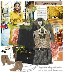 """""""Fall's Finest with eBay"""" by edenslove on Polyvore"""