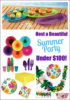 Host A Summer Party Under $100