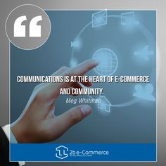 That's why, here at 2b e-Commerce we establish a community between brand and clients