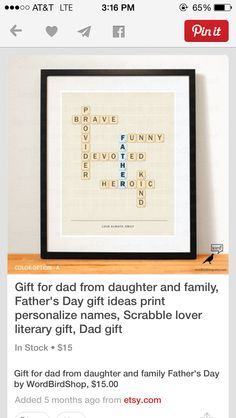 cute gift for Father's Day