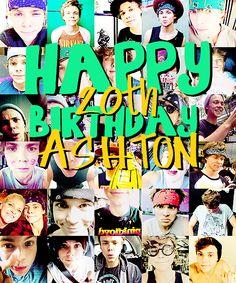 Happy 20th Birthday Ashton!