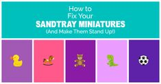 Learn about this ingenious, DIY solution to repair, organize, and create clarity out of chaos with your sandtray miniatures.