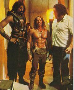 80's BLAST FROM THE PAST - Wilt Chamberlain, Arnold Schwarzenegger and Andre (the Giant) Rene Roussimoff