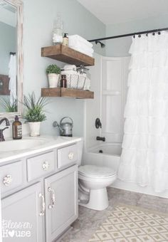 Colour Review Sherwin Williams Sea Salt Undertones And More Chic Bathroomsfarmhouse Bathroomsdecorating