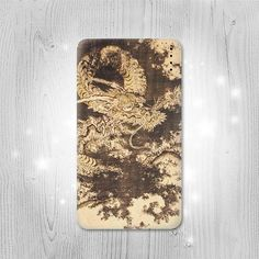 Japan Dragon Painting Gadget Personalized Tech Gift by Lantadesign
