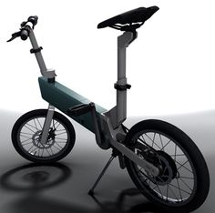 9a8caba69b Self-Rechargeable Folding Bike BiCX Makes Riding Fun