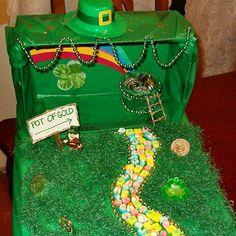 Build a leprechaun trap for St. Patty's!