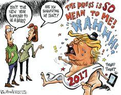 Phil Hands Editorial Cartoon, December 31, 2016     on GoComics.com