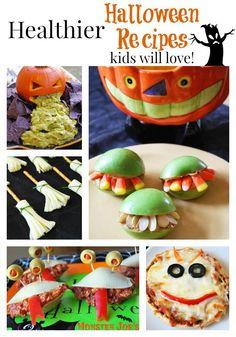 Healthier Halloween Favorites