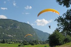 Hey. That's me parapenting in Slovenia.