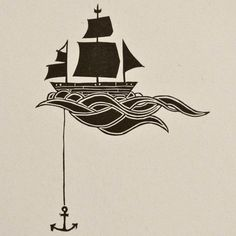 Neat tattoo idea without the anchor