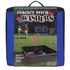 @Overstock - This Perfect Pitch Washers game promises hours of fun for the whole family. Waterproof and weatherproof, this outdoor game is great for tailgating, barbeques, family reunions, the beach or the backyard.http://www.overstock.com/Sports-Toys/Perfect-Pitch-Washers-Game/7280951/product.html?CID=214117 $34.49