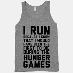 I Hate Running But I Love French Fries tank top (this is awesome)! Shut Your Face, Just In Case, Just For You, I Hate Running, Start Running, Funny Running, Alphonse Elric, Jealous Of You, Do It Yourself Fashion