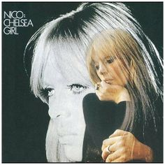 """Solo album by Nico, a German model and singer who was famously associated with the Velvet Underground and Andy Warhol. The album title refers to her having performed in Warhol's movie, """"Chelsea Girls,"""" Iggy Pop, Jim Morrison, Bob Dylan, Lp Vinyl, Vinyl Records, Rare Vinyl, Woody, Underground Series, Mazzy Star"""