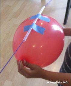 Roket Balon Oyunu