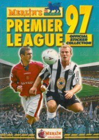 Merlin Premier League 97 Album Cover Adidas Predator Lz, Old School Toys, Football Stickers, Galaxy Print, Fantasy Football, 90s Kids, Merlin, My Childhood, Premier League