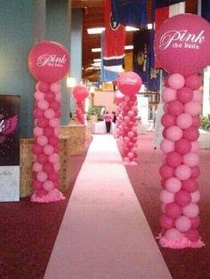 The pink carpet