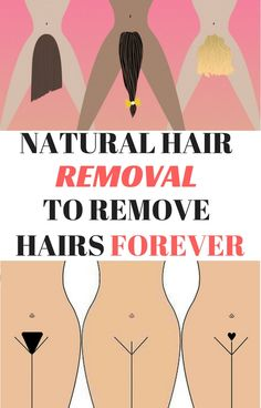 TRY THIS NATURAL HAIR REMOVAL TO REMOVE HAIRS FOREVER