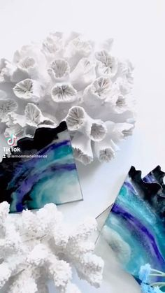 Black, purple, blue and green (with a hint of sparkle) agate coasters inspired by the amazing Fluorite crystal! Luxury Home Decor, Luxury Interior Design, Agate Coasters, Summer Drinks, Resin Crafts, Home Accessories, Sparkle, Room Decor, Inspired