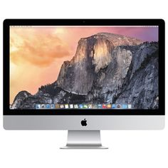Apple iMac with Retina display All-in-One Desktop Computer, Quad-core Intel Core RAM, 27 Apple Macbook Pro, Macbook Air, Apple Mac Book, Imac G3, Imac Laptop, Apple Desktop, Cool Desktop, Apple Iphone, Mac Mini