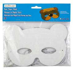 With this bear mask, your child is ready to make a bear out of themselves. Attach the mask ...