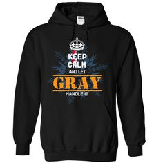 0610 Keep Calm and Let GRAY Handle It Noel T-Shirts, Hoodies. BUY IT NOW ==►…