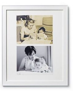 Place a photo of your grandma with your mom, and a photo of your mom with you.