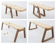 Twin Bench, la panca componibile di Andrea Rekalidis