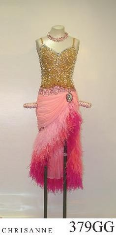 I love the colours and fringe pattern Latin Ballroom Dresses, Ballroom Costumes, Ballroom Dance Dresses, Dance Costumes, Latin Dresses, Ballroom Dancing, Tango Dress, Cosplay Outfits, Costume Dress