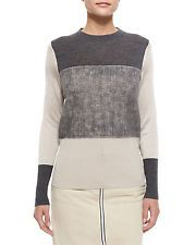 NEW rag & bone Marissa Colorblock Knit Sweater Size S