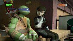 Leonardo and Karai (Owari). Tmnt 2012, Tortugas Ninja Leonardo, Tmnt Leo, Tmnt Girls, Leonardo Tmnt, Cartoon Ships, Nickelodeon, Cartoon Tv Shows, Girl Meets World
