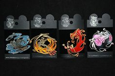 DISNEY PIN MALEFICENT JAFAR HADES & CHERNABOG