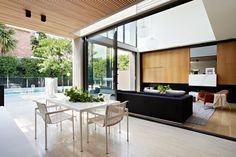 See how one small contemporary house can truly break monotony and boringness of traditional architecture and attract attention with its design. Steel Cladding, Modern Properties, Home Modern, Modern Decor, Interior Architecture, Interior Design, Interior Ideas, Interior Inspiration, Melbourne House