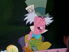 """During a break in the recording sessions,Ed Wynnad libbed the speech where the Mad Hatter tries to """"fix"""" the White Rabbit's watch. (""""Muthtard? Leth not be thilly!"""")Walt Disney, who was listening in a nearby sound booth, saw that the recording tape was still recording Wynn's speech. He told the sound technicians, """"Hey, that stuff's pretty funny. Why don't you use that speech in the movie?"""""""