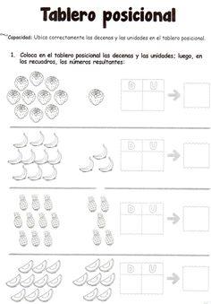 Tablero posicional: 5 años - Material de AprendizajeMaterial de Aprendizaje