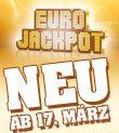 Der EURO-Jackpot: 10 Millionen Mindestgewinnsumme, jeden Freitag Ziehung. Ab 23.03.2012 in mehreren Ländern Europas.     Mehr Infos: www.sachsenlotto.de