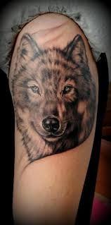 Bildresultat för wolf tattoo realistic
